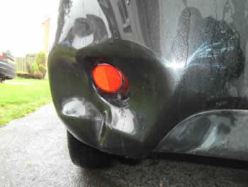 Car Bumper Dents Removed